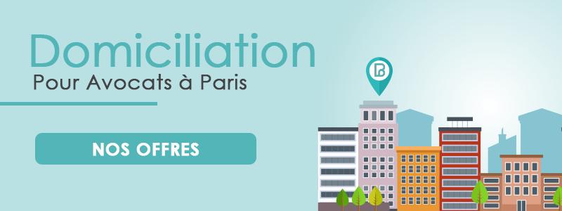 Domiciliation pour Avocats à Paris - Siège social dans le 1er